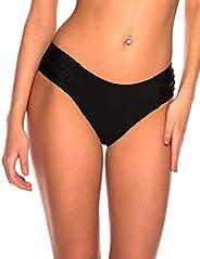 RELLECIGA Women's High Waisted Bikini Bo