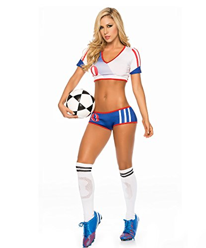 Cheerleading Uniform for Womens Sexy Football Short Sleeve