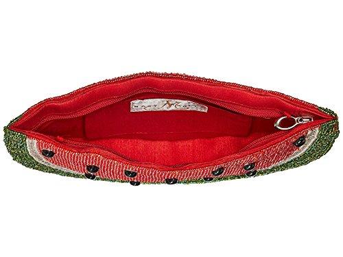 Handbag Jeweled Life Slice Shoulder Mary Frances Slice Watermelon Beaded Fruit Bag Of wOztXqp