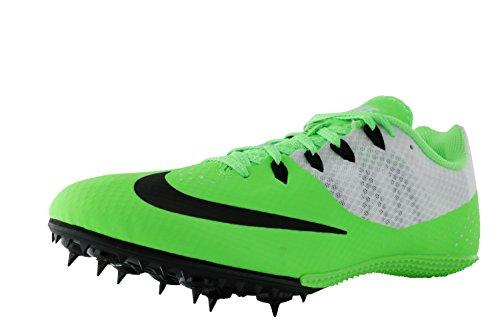 Nike Zoom Rival S 7 Spår Spikar Skor Herrstorlek 10,5 (spänning Grön, Vit, Svart)
