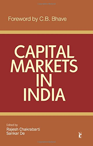 Capital Markets in India (Response Books)