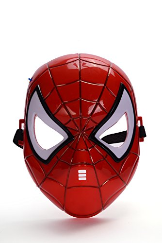 REINDEAR Comics Costume Superhero LED Light Eye Mask US Seller (Spider-Man) -