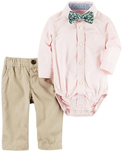 Carter's Baby Boys' 3 Pc Sets 120g119, Pink, 24M