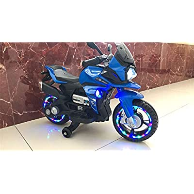 TAMCO Motorcycle Ride On Toy , Electric Power Tricycle with Key Starter, USB Jack, AUX Jack, USB Jack, AUX Jack,Light Wheels,Super Easy Driving for Kids3-5 Years Old: Toys & Games