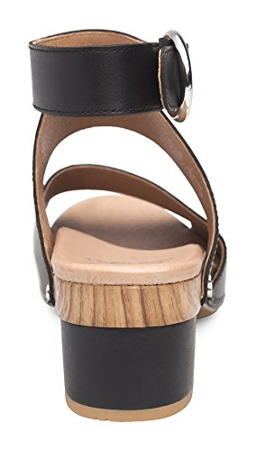 Sandal Grain Womens Minka Full Dansko Black znEPYRx
