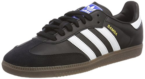 Adidas Men Samba OG Shoes Black (Core Black/Footwear White/Gum)