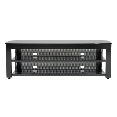 Sanus SFV265-B1 Steel Furniture 65 Wide AV Stand GEN 2 Black