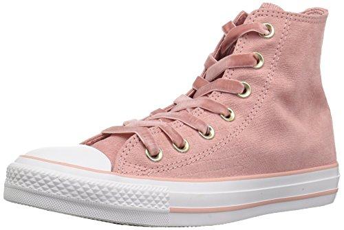 Converse Damen CTAS Hi Rust Fitnessschuhe Mehrfarbig (Rust Pink/Black/White 668)
