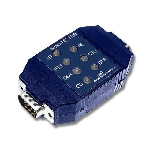 - Interface Development Tools RS-232 Mini Tester (9PMTT)