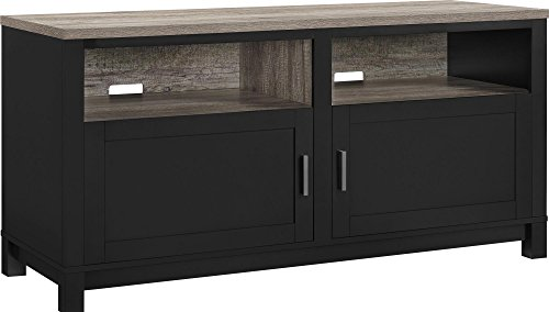 Black Large Tv Stand - 4