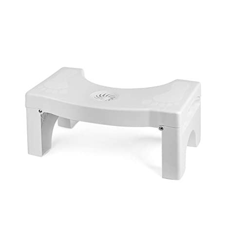 Miraculous Toilet Stool Folding Step Stool For Bathroom Non Slip Bathroom Step Up Stool Squatting Toilet Stool For Kids And Adults Proper Toilet Posture Pabps2019 Chair Design Images Pabps2019Com