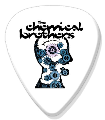 Chemical Brothers Big Guitar Plectrum Fridge (Chemical Refrigerator)