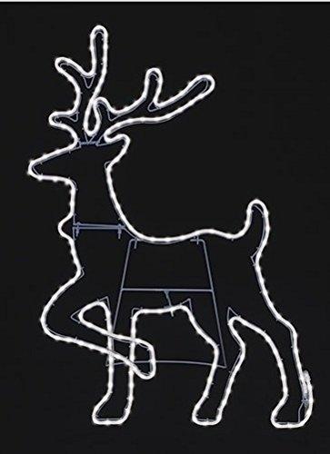 Outdoor Rope Light Reindeer in US - 6