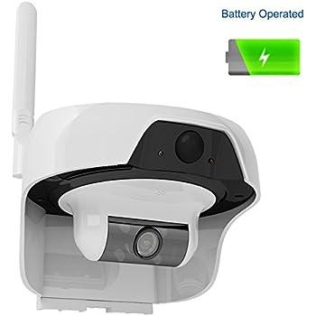 Amazon.com : Solo Solar Powered Outdoor, Water Resistant Wireless ...