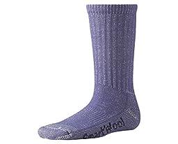 Smartwool Kids\' Hike Light Crew Socks (Lavender) Small