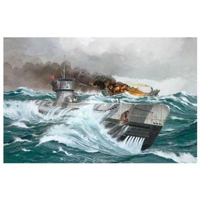 ドイツレベル 1/144 Uボート TypeVIIC 05038 プラモデル
