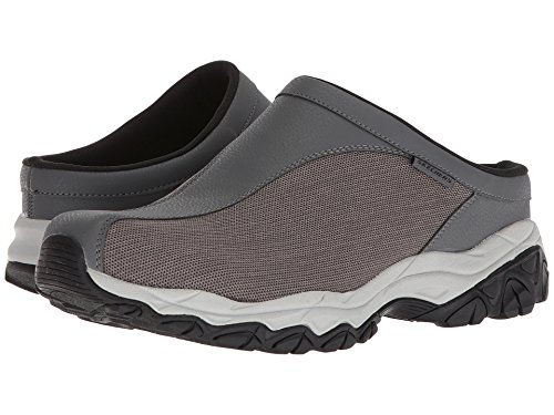 [SKECHERS(スケッチャーズ)] メンズスニーカー?ランニングシューズ?靴 Afterburn Memory Fit Chamlan Charcoal 9 (27cm) D - Medium