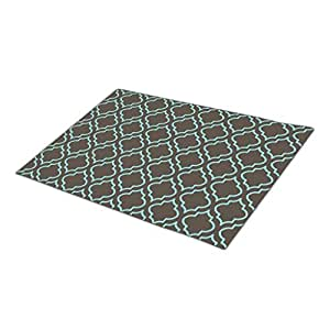 AbbyDay Doormat Turquoise Pattern Kitchen Entry Mats One size
