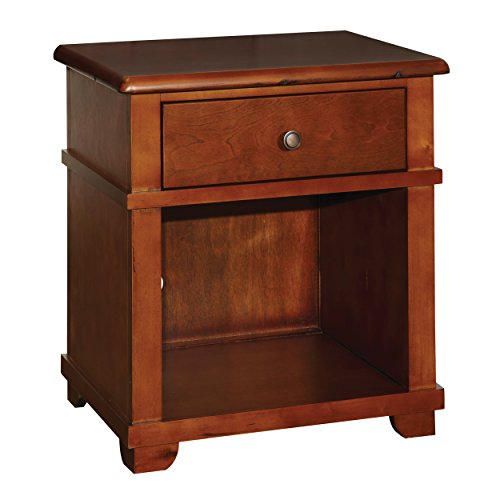 Bolton 8401700 Woodridge 1-Drawer Nightstand, Chestnut by Bolton