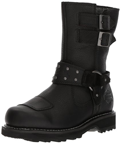 Harley-Davidson Women's Marmora Work Boot, Black, 7.5 M US by Harley-Davidson