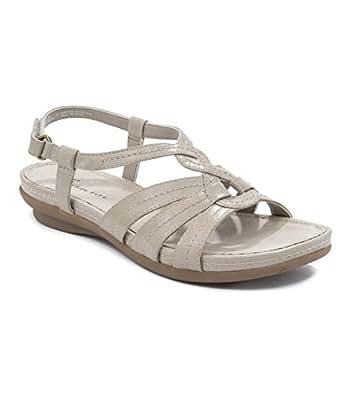Amazon Com Wear Ever Andrea Women S Sandals White