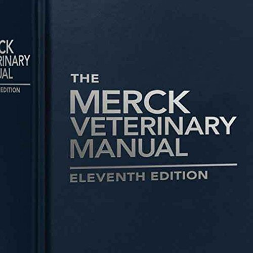 Merck Veterinary Manual 11th Edition Dog Animal Medicine Vet Resource Guide Book