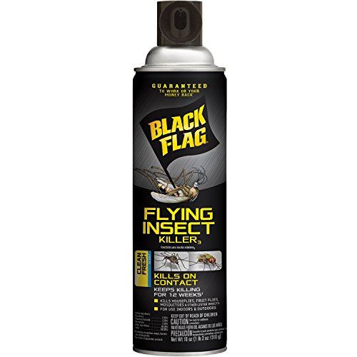Flying Insect Killer Spray (Black Flag HG-11076 Flying Insect Killer Aerosol Spray, 18 oz)
