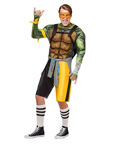 Adult Michelangelo Costume Teenage Mutant Ninja Turtles: Out of the (Ninja Turtle Costume Spirit Halloween)