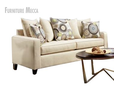 Delicieux Stoked Sturdy Solidwood Frame, Deep Cushioned Soft Fabric Sofa Living Room  Set