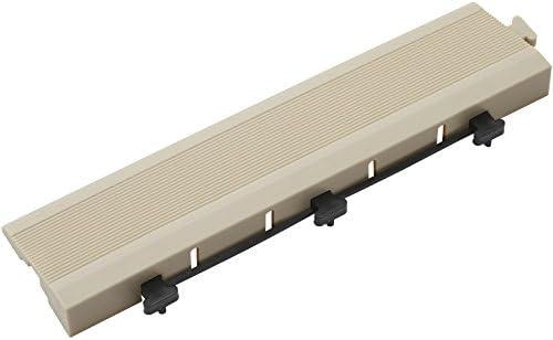 タカショー ジョイントデッキ エッジ ホワイト 約W30×D7.5×H2.5cm