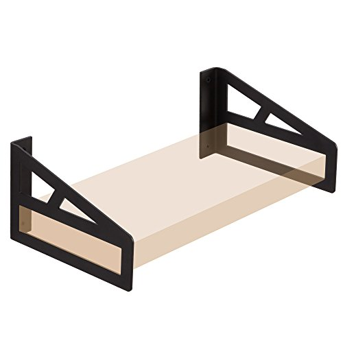 10' Deep Shelf - Pair of Shelf Brackets Integral Forming Heavy Duty Designed for 10