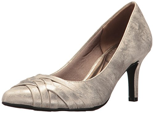 Lifestride Womens Sentiment Dress Pump Soft Gold