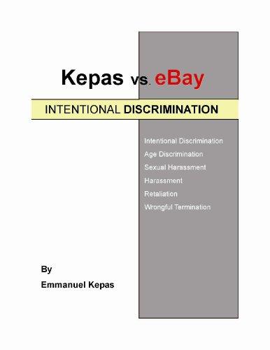 Kepas vs. eBay; INTENTIONAL DISCRIMINATION