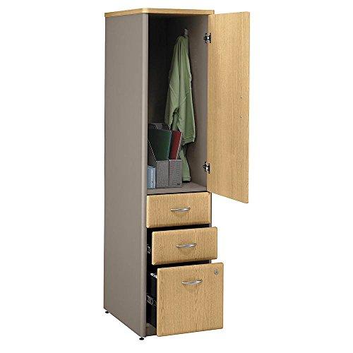 Bush Business Furniture Assembled 2-Tone File Cabinet Tower - Series A