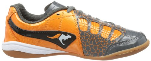 Grey Kangaroos B Divided Boys' Black Orange Trainers Grau Dark Gray x00pfHwqA