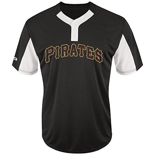 - Adult Small Pittsburgh Pirates NEW MLB Color Block Jersey