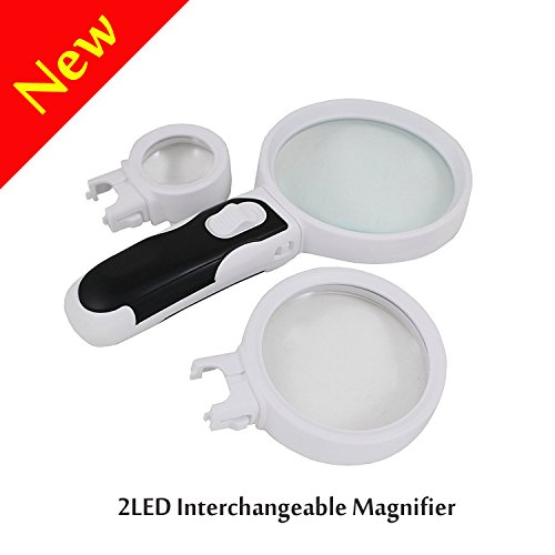 Interchangeable Magnifier Handheld Magnifying Detachable product image