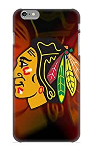 Durable Protector Case Cover With Awesome Chicago Blackhawks Hot Design For Iphone 6 Plus (ideal Gift For Lovers)
