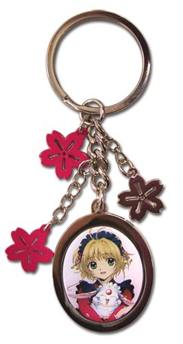Great Eastern Entertainment Tsubasa Sakura Flower Metal Keychain