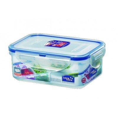 Lock&Lock 16-Fluid Ounce Rectangular Food Container, Short,