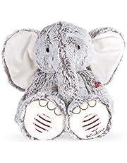 Kaloo - Rouge Kaloo - Noa grå elefant mjuk leksak - 25 cm - Från födseln och framåt, K963669