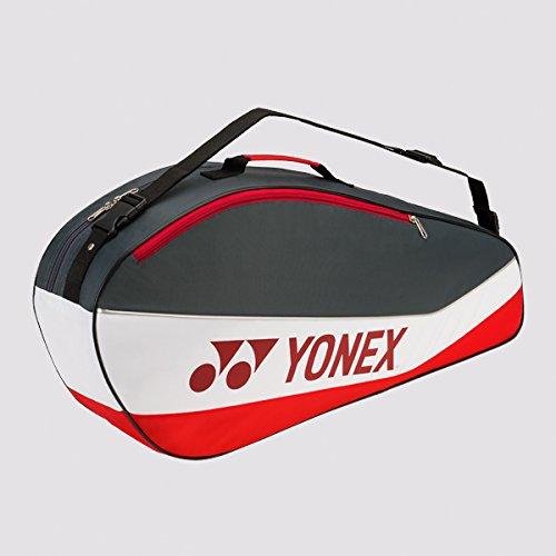 適切な価格 Yonex Club Series ( B01HH1C3NQ 3 - Pack Pack ( )テニスバッグ(ブラック/ライム) Gray/Red B01HH1C3NQ, パーティグッズクラッカーカネコ:0e6e1843 --- svecha37.ru