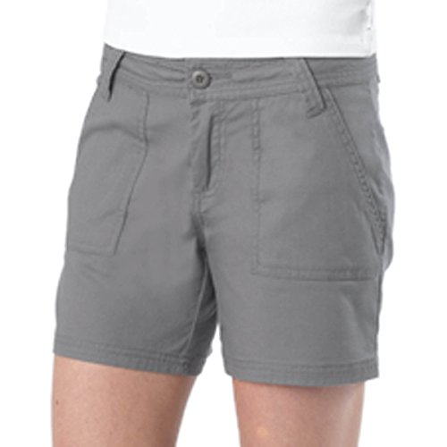 prAna Living Women's Tess Shorts, Gravel, 8