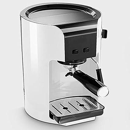 LJHA kafeiji Máquina de café espresso, máquina de café tipo bomba para uso doméstico,