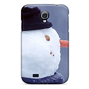 Excellent Galaxy S4 Case Tpu Cover Back Skin Protector Snowman Youre Cute