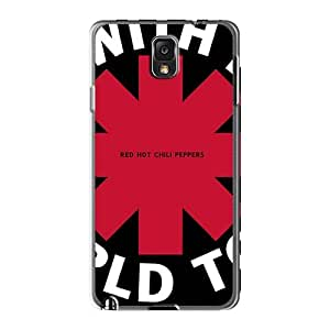 Samsung Galaxy Note3 DLs16611swhY Customized Trendy Red Hot Chili Peppers Pattern High Quality Hard Phone Covers -KellyLast