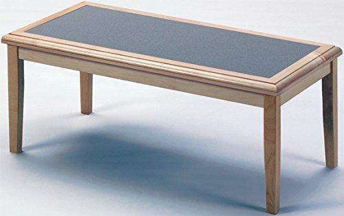 (Lesro Somerset F1450T5 Coffee Table finish Walnut Top Inlay Grey Matrix)
