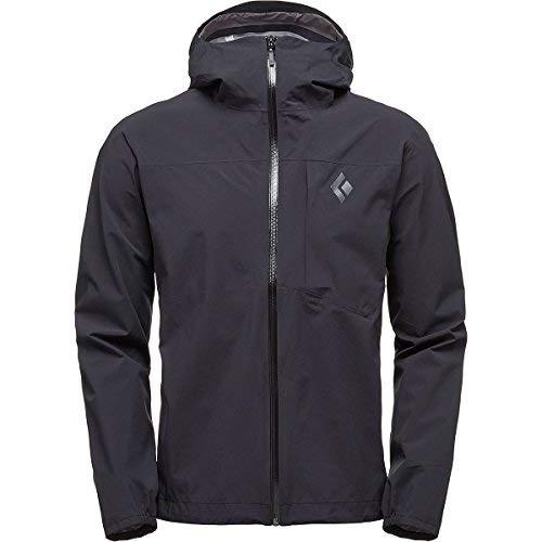 Black Diamond Fineline Stretch Rain Shell Jacket - Men's Black Large