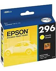 Cartucho de Tinta Epson 296 Amarelo T296420 para XP-231 / XP-241 / XP-431 / XP-441