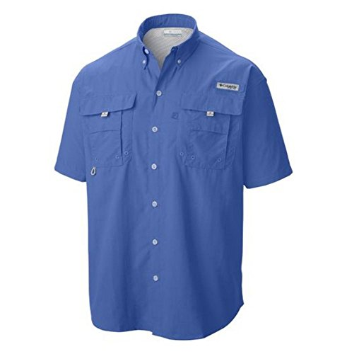 Columbia Sportswear Men's Bahama II Shirt, Blue Bright 05, Large